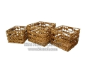 Water Hyacinth Basket WF5020-3NAT
