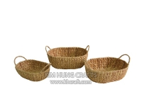 Water Hyacinth Tray WF5139-3NAT