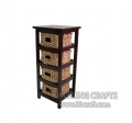Water Hyacinth Cabinet WF2009-1NAT