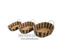 Water Hyacinth Basket WF5036-3MIX
