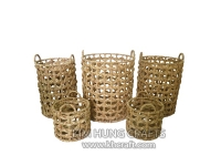 Water hyacinth basket WF5155-5NAT