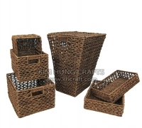 Seagrass Laundry Hamper SF0001-6WBR