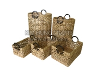 Water hyacinth basket WF5157-5NAT