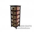 Water Hyacinth Cabinet WF2007-1NAT