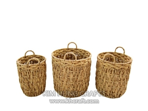 Water hyacinth basket WF5179-3NAT