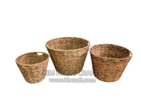 Water Hyacinth Basket WF5142-3NAT
