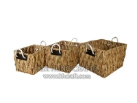 Water hyacinth basket WF5164-3NAT