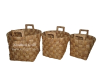 Water Hyacinth Basket WF5219-NAT