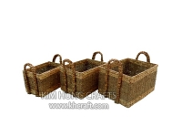 Water hyacinth basket WF5193-3NAT