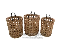 Water hyacinth basket WF5183-3NAT