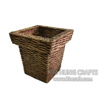 Water Hyacinth Planter Pot WF3003-1WBR