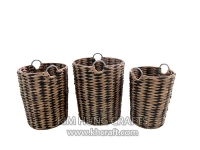 Water hyacinth basket WF5205-3MIX
