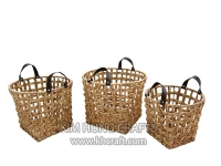 Water hyacinth basket WF5181-3NAT