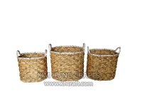 Water hyacinth basket WF5163-3NAT