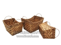 Water Hyacinth Basket WF5066-3WLB