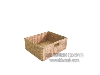 Water Hyacinth Basket WF5087-1NAT