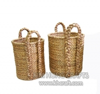 Water Hyacinth Basket WF5114-2NAT