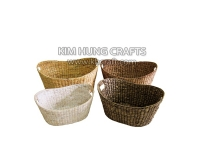 Water Hyacinth Basket WF5141-4MIX
