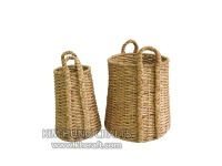 Water Hyacinth Basket WF5140-2NAT