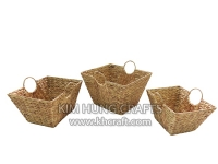 Water hyacinth basket WF5188-3NAT