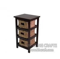 Water Hyacinth Cabinet WF2011-1NAT