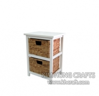 Water Hyacinth Cabinet WF2012-1NAT
