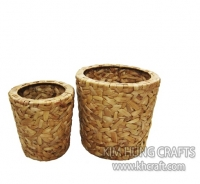 Water Hyacinth Planter Pot WF3001-2NAT