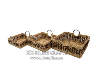 Water Hyacinth Tray WF5048-3MIX
