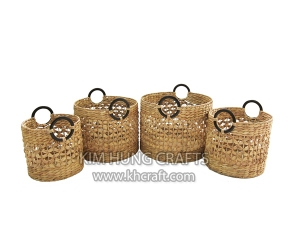 Water hyacinth basket WF5170-4NAT