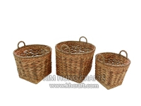 Water hyacinth basket WF5192-3NAT