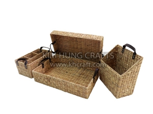 Water Hyacinth Combination Set WF5206-4NAT