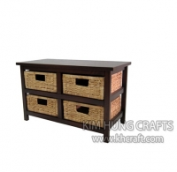 Water Hyacinth Cabinet WF2002-1NAT