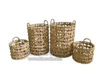 Water hyacinth basket WF5150-4NAT