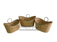 Water hyacinth basket WF5149-3NAT